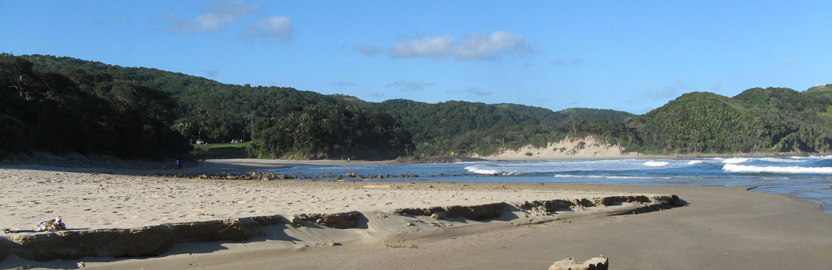 Port St Johns - classic view of Second Beach