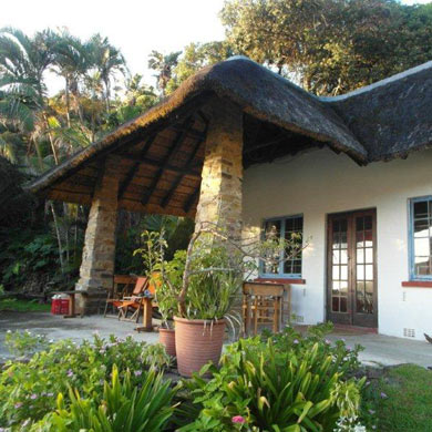 The Lodge On The Beach is one of Port St Johns' oldest and quaintest buildings
