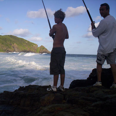 Fishing in Port St Johns