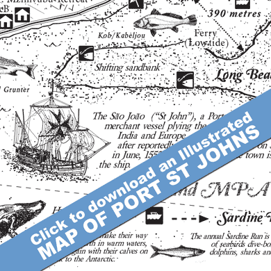 Download an illustrated tourist of Port St Johns